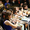 Eastern, Western, Northwestern and Taylor High Schools perform together during the Howard County Music Festival at Eastern High School on Wednesday, March 14, 2018.<br /> Kelly Lafferty Gerber | Kokomo Tribune