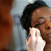 Heartland models get their makeup and hair done at Posh Salon on Friday, March 16, 2018.<br /> Kelly Lafferty Gerber   Kokomo Tribune