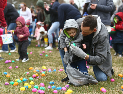 Fuel Church's Easter Festival on Saturday, March 31, 2018. Kelly Lafferty Gerber | Kokomo Tribune