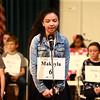 North Central Indiana Regional Spelling Bee at IUK on Thursday, March 22, 2018.<br /> Kelly Lafferty Gerber | Kokomo Tribune