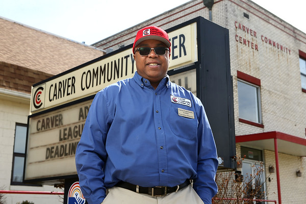 Donta Rogers is the new executive director of the Carver Community Center.<br /> Kelly Lafferty Gerber | Kokomo Tribune