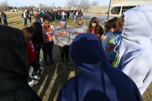 Taylor Students Walk Out
