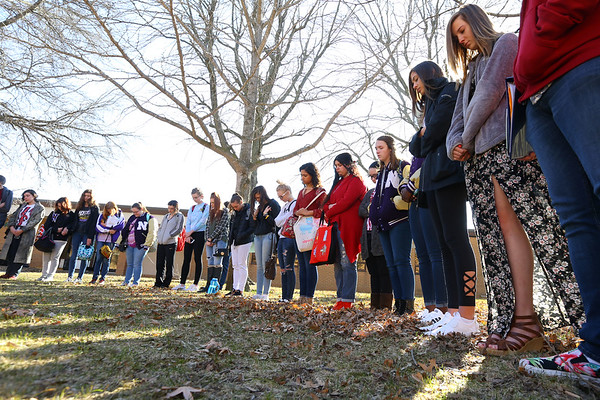 NHS student walkout