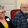 Rod Kern at the pizza and politics discussion on March 6, 2018.<br /> Kelly Lafferty Gerber | Kokomo Tribune