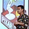 Pixar Senior Scientist and Lead Researcher Tony DeRose speaks at IUK on Saturday afternoon, May 12, 2018.<br /> Kelly Lafferty Gerber | Kokomo Tribune