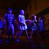 "Kids do the ""Cha Cha Slide"" during the Bon Air Elementary family prom on Friday, May 18, 2018.<br /> Kelly Lafferty Gerber | Kokomo Tribune"