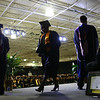 A graduate walks across the stage during the Ivy Tech graduation on Friday, May 11, 2018.<br /> Kelly Lafferty Gerber | Kokomo Tribune