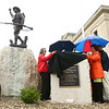 Miami County honors its women of World War I during a ceremony unveiling a memorial marker in front of the Miami County Courthouse on Saturday, May 12, 2018.<br /> Kelly Lafferty Gerber | Kokomo Tribune