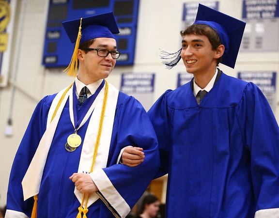 Tipton High School's 2018 graduation on Saturday, May 26.<br /> Kelly Lafferty Gerber   Kokomo Tribune