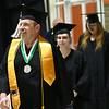 James Montgomery walks into the Kokomo Event Cneter as graduates walk in for the Ivy Tech graduation on Friday, May 11, 2018.<br /> Kelly Lafferty Gerber | Kokomo Tribune