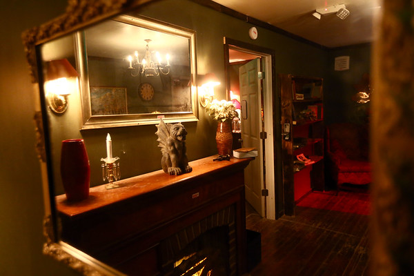The interior of Cannibal Manor, one of the rooms at Streaper's Escape Adventures in Peru, Indiana, where you  have one hour to solve the mystery of why there are so many people who come into this place, but never leave.<br /> Kelly Lafferty Gerber   Kokomo Tribune