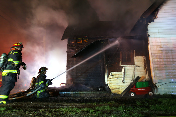 S Waugh House Fire