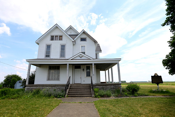 Dunham House located at 709 S West St, Kempton, Indiana, on Monday May 29, 2018. The house, built in the 1880s, is significant because of a relation the Dunham family has to the 44th president, Barack H. Obama<br /> Tim Bath | Kokomo Tribune