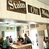A group gets together at Stain on Main to make wooden signs on Saturday, May 12, 2018.<br /> Kelly Lafferty Gerber | Kokomo Tribune