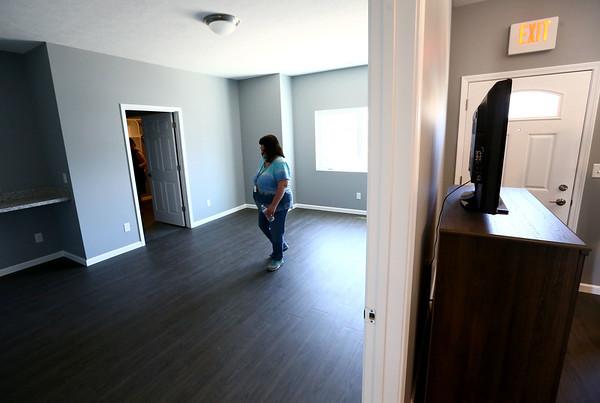 The inside of Bona Vista's Meridian Park Apartments on Tuesday, May 1, 2018.<br /> Kelly Lafferty Gerber | Kokomo Tribune