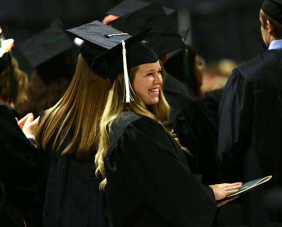 Ivy Tech graduation on Friday, May 11, 2018.<br /> Kelly Lafferty Gerber   Kokomo Tribune
