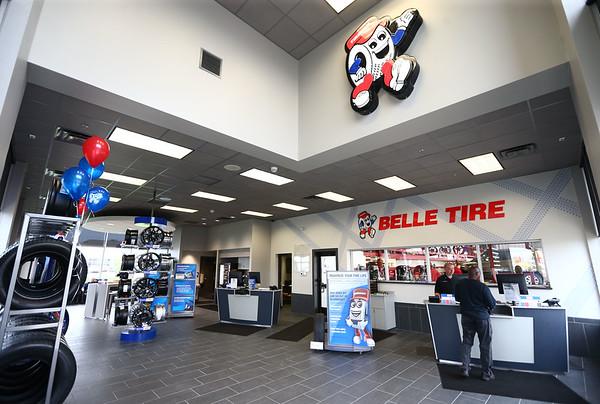 The interior of Belle Tire on Saturday, May 12, 2018.<br /> Kelly Lafferty Gerber   Kokomo Tribune