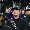 Olivia Holaday tears up after the Western Marching Panthers took second place in the Class C Marching Band State Championship at Lucas Oil Stadium on Saturday, November 3, 2018.<br /> Kelly Lafferty Gerber | Kokomo Tribune