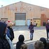 Laura Noel, takes a group through the tour of Kokomo Opalescent Glass on Friday, November 23, 2018.<br /> Kelly Lafferty Gerber   Kokomo Tribune