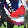 The Lewis Cass Marching Kings perform in the Class C Marching Band State Championship at Lucas Oil Stadium on Saturday, November 3, 2018.<br /> Kelly Lafferty Gerber | Kokomo Tribune