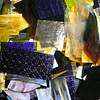 Scrap glass is available for purchase at Kokomo Opalescent Glass on Friday, November 23, 2018.<br /> Kelly Lafferty Gerber | Kokomo Tribune