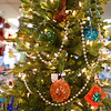 Glass ornaments and other decoration for sale in the Op Shop at Kokomo Opalescent Glass on Friday, November 23, 2018.<br /> Kelly Lafferty Gerber | Kokomo Tribune