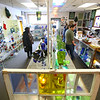 Visitors to Kokomo Opalescent Glass on Friday, November 23, 2018, check out the items for sale in the Op Shop.<br /> Kelly Lafferty Gerber | Kokomo Tribune