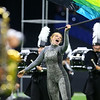Senior colorguard member Gabby Fred performs with the Lewis Cass Marching Kings, who took third place in the Class C Marching Band State Championship at Lucas Oil Stadium on Saturday, November 3, 2018.<br /> Kelly Lafferty Gerber | Kokomo Tribune
