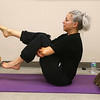 Lucy, from Peace of Yoga, leads the cat yoga class with Prance laying by her side and a visit from Major at the Kokomo Humane Society on Tuesday, November 13, 2018.<br /> Kelly Lafferty Gerber | Kokomo Tribune