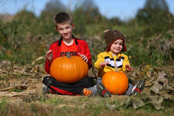 Pumpkins and Mazes