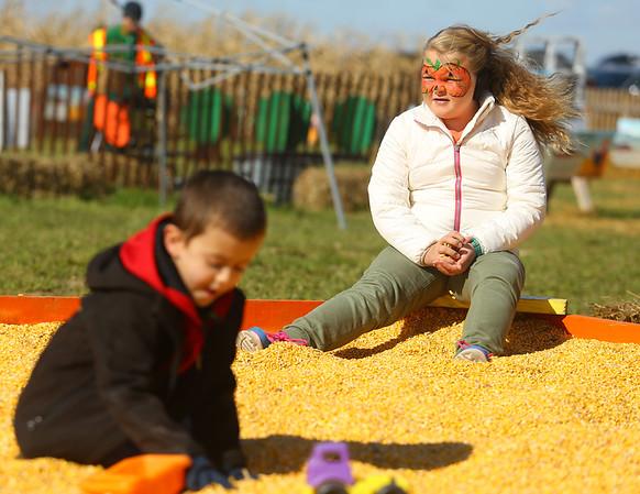 Kendall Family Farm Adventures Corn Maze & Pumpkin Patch on Saturday, October 20, 2018.<br /> Kelly Lafferty Gerber | Kokomo Tribune