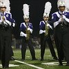 Northwestern High School's marching band performs an exhibition in Northwestern's inaugural Marching Band Invitational Contest on Saturday, September 15, 2018.<br /> Kelly Lafferty Gerber | Kokomo Tribune