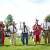 Gourd dancers dance during the Tecumseh Lodge Powwow at the Tipton County Fairgrounds on Saturday, September 1, 2018.<br /> Kelly Lafferty Gerber | Kokomo Tribune