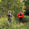 CUE members search for missing persons in the western part of Howard County on Sept 22, 2018.<br /> Graham Milldrum | Kokomo Tribune
