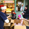 "Movie-goers receive free popcorn and candy during Diana Theatre's 93rd annual free Christmas movie, ""Wonder Park,"" in Tipton on Saturday morning, December 21, 2019.<br /> Kelly Lafferty Gerber 