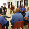 Member of the American Legion Post 555 located at Miami Correctional facility with almost a 100 members talk about the involvement on December 5, 2019.<br /> Tim Bath | Kokomo Tribune