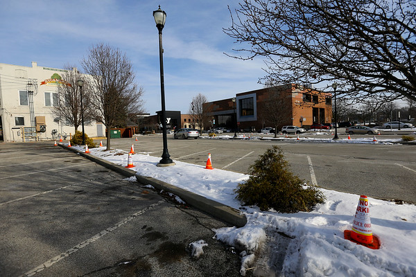 City is building a new parking garage across from Kokomo City Hall at Union and Superior Streets on December 20, 2019.<br /> Tim Bath | Kokomo Tribune