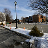 City is building a new parking garage across from Kokomo City Hall at Union and Superior Streets on December 20, 2019.<br /> Tim Bath   Kokomo Tribune