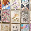 Over 1,000 artist trading cards are on display at the Kokomo-Howard County Public Library on December 17, 2019. The exhibit will be on display until the end of January.<br /> Kelly Lafferty Gerber | Kokomo Tribune