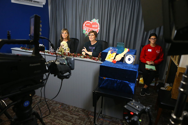 The final hours of the 2019 We Care telethon on Sunday, December 8, 2019.<br /> Kelly Lafferty Gerber | Kokomo Tribune