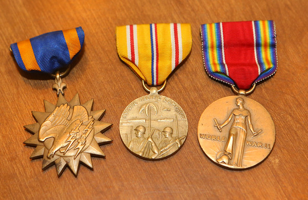"Several of Hobbs' medals are kept by the family. Kokomo native Ensign Wright ""Billy"" Hobbs was one of the last four men to die in World War II in the final Pacific air battle on August 15, 1945. Hobbs' story is the subject of a new book by John Wukovits called Dogfight Over Tokyo.<br /> Kelly Lafferty Gerber 