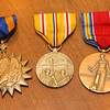 """Several of Hobbs' medals are kept by the family. Kokomo native Ensign Wright """"Billy"""" Hobbs was one of the last four men to die in World War II in the final Pacific air battle on August 15, 1945. Hobbs' story is the subject of a new book by John Wukovits called Dogfight Over Tokyo.<br /> Kelly Lafferty Gerber 
