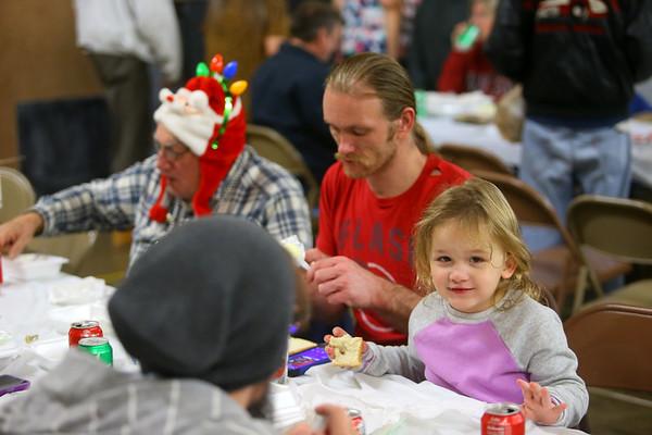 24th annual Favors Christmas dinner on Wednesday, December 25, 2019.<br /> Kelly Lafferty Gerber | Kokomo Tribune