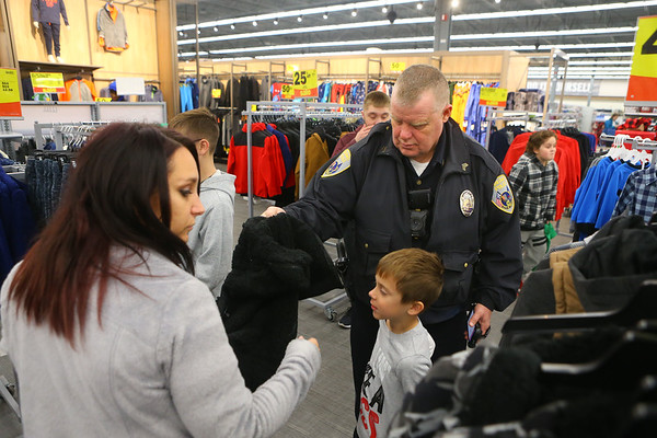 Cops4Kidz at Meijer on Saturday, December 14, 2019.<br /> Kelly Lafferty Gerber | Kokomo Tribune