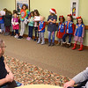 Girl Scout troop 560 caroling at Century Villa in Greentown on December 17, 2019.<br /> Tim Bath | Kokomo Tribune