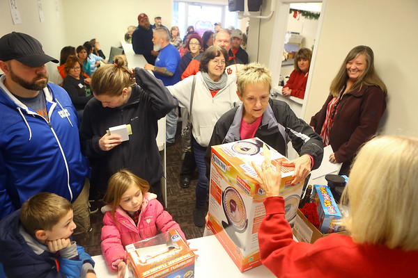 The final hours of the 2019 We Care telethon on Sunday, December 8, 2019.<br /> Kelly Lafferty Gerber | Kokomo Tribune