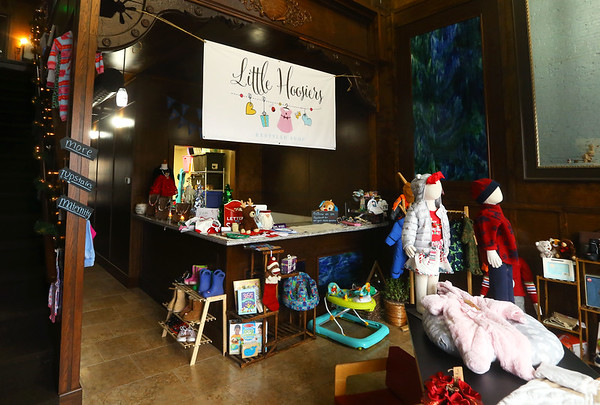 Little Hoosiers, a kid's resale shop, at 303 North Main Street on Tuesday, December 3, 2019.<br /> Kelly Lafferty Gerber   Kokomo Tribune