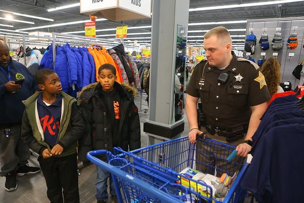 Cops4Kidz at Meijer on Saturday, December 14, 2019.<br /> Kelly Lafferty Gerber | Kokomo Tribune
