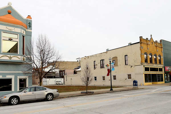 The site of the old Barko Building in the 100 block of West Walnut Street that was demolished back in 2016 sits empty on Dec. 12, 2019. Scott Pitcher is getting ready to build on the site.<br /> Tim Bath | Kokomo Tribune