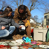 Chastity Roark and her dad Dave Hamby go through the ornaments that will be hung on the Miami tree on Saturday, December 7, 2019. A lot of the ornaments have names of residents who have passed away written on them and it is a way for them to be remembered.<br /> Kelly Lafferty Gerber | Kokomo Tribune